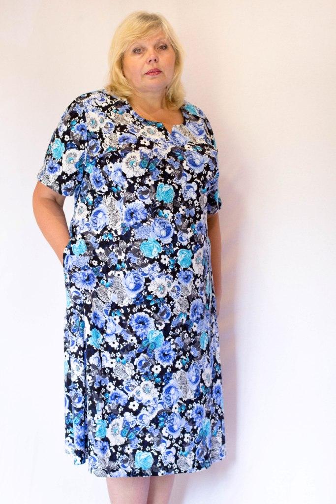 Платья большого размера 64 по 70 размер