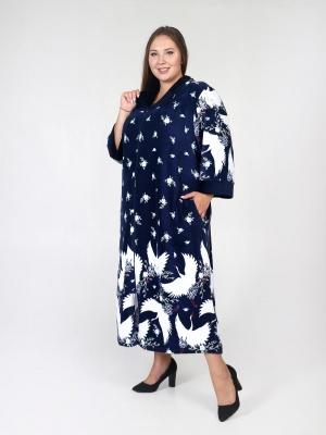 Велюровый халат на молнии Ирен 3
