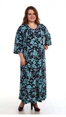 Длинное платье с длинным рукавом Размер 64 66 68 70 72 74 76 78 80 82 84 Полиэстер 100%.  Помощь в подборе размера. Недорогая доставка по России почтой. Наложенный платеж. Примерка в Москве. Розница.