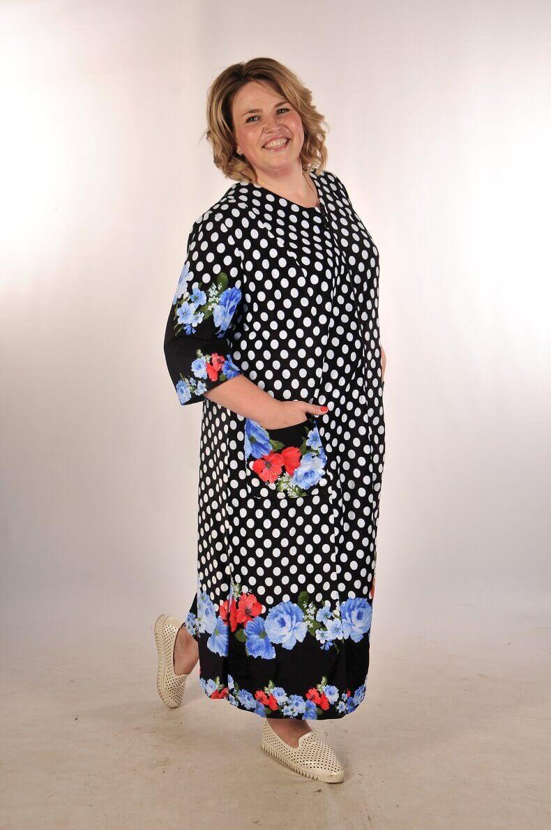 9fd92396e8d Женский велюровый халат на молнии с длинным рукавом черный белый синий  Размер 60 62 64 66 · Халат велюровый на молнии Вена ...