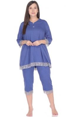 Пижама с кружевом Жизель