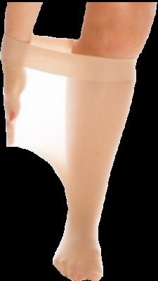 Женские гольфы 30 den на обхват ноги под коленом 64 см