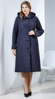 Пальто на пуговицах Нина-зима 2