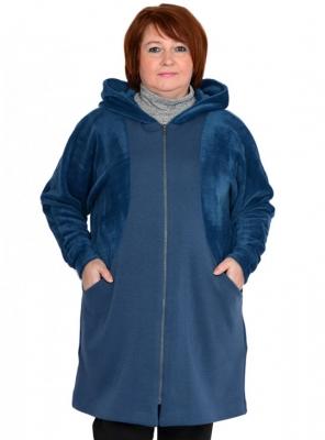 Демисезонная куртка-пальто большого размера 62 62 66 68 70 72 74 76 78 80 82 84