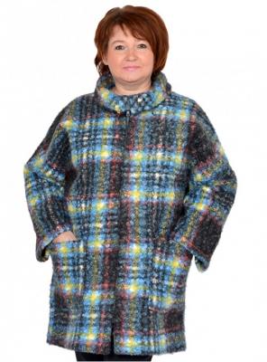 Женское демисезонное пальто большого размера 62, 64, 66, 68, 70, 72, 74, 76, 78, 80