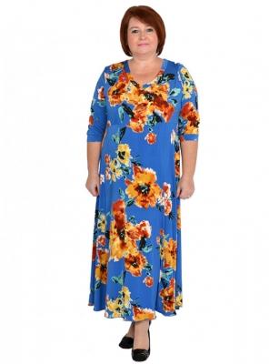 Платье большого размера 60 62 64 66 68 7072 74 76 78 80 82