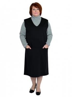 Платье-сарафан большого размера 60 62 64 66 68 7072 74 76 78 80 82 84